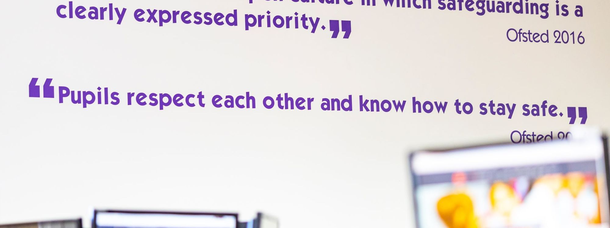 Ofsted quote